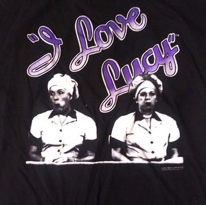 Vintage 90s I Love Lucy lucielle Ball t shirt